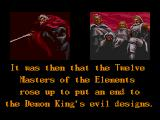 Jewel Master Genesis It was then that the Twelve Masters of the Elements rose up to put an end to the Demon King's evil designs.