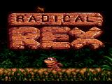 Radical Rex SEGA CD Title screen