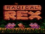 Radical Rex SEGA CD Title screen animation. Dancing dino-babes.