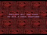 Radical Rex SEGA CD Collect all the eggs to win a free continue.
