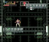 Run Saber SNES A deadly elevator shaft lined with enemies and traps
