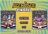 Austin Powers Pinball Windows Main menu