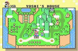 Super Mario World: Super Mario Advance 2 Game Boy Advance Overworld Map
