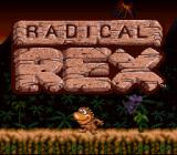 Radical Rex SNES Title screen