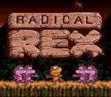 Radical Rex SNES Title screen animation. Dancing dino-babes.