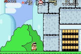 Super Mario World: Super Mario Advance 2 Game Boy Advance Entering Iggy's Castle
