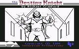 The Bard's Tale II: The Destiny Knight Commodore 64 Title