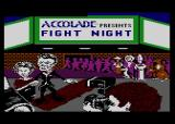 Fight Night Atari 8-bit Loading screen