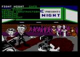 Fight Night Atari 8-bit Main menu