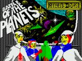Battle of the Planets ZX Spectrum Loading screen