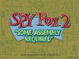 "Spy Fox 2: ""Some Assembly Required"" Windows Title screen"