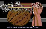 Fast Break Commodore 64 Loading screen