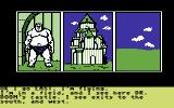 Questprobe: Featuring Human Torch and the Thing Commodore 64 Flying towards Dr. Doom's castle (US/Disk version)
