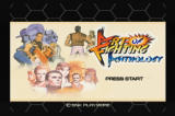 Art of Fighting Anthology PlayStation 2 Title screen (US version).
