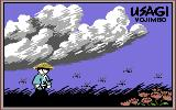 Samurai Warrior: The Battles of Usagi Yojimbo Commodore 64 Loading screen