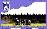 Samurai Warrior: The Battles of Usagi Yojimbo Commodore 64 Tough battle, should have greeted them