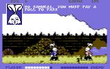 Samurai Warrior: The Battles of Usagi Yojimbo Commodore 64 Pay the toll or fight