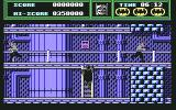 Batman: The Movie Commodore 64 Navigating a ladder