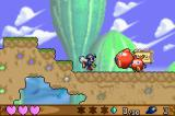 Klonoa: Empire of Dreams Game Boy Advance Grabbed enemies can be thrown at other enemies...