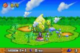 Klonoa 2: Dream Champ Tournament Game Boy Advance Jungle stage map