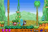 Klonoa 2: Dream Champ Tournament Game Boy Advance Grabbing an enemy