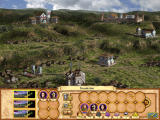 Heroes of Might and Magic IV Windows A town