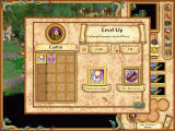 Heroes of Might and Magic IV Windows This hero has enough experience points for the next level. You then can choose what skill he should become better in.