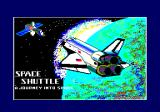 Space Shuttle: A Journey into Space Amstrad CPC Loading screen