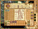 Heroes of Might and Magic IV Windows This is the hero details screen, as already known from HoMM3. It also contains his inventory and army.