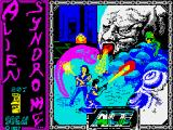 Alien Syndrome ZX Spectrum Loading screen