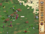 Heroes of Might and Magic IV Windows Slaying some skeletons. Here, the hit stats are visible - it hurts a lot :)