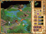 Heroes of Might and Magic IV Windows Look at those beautiful graphics! They are hand-painted, as in all Heroes games and they look absolutely perfect.