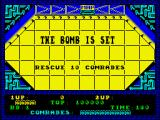 Alien Syndrome ZX Spectrum The bomb is set