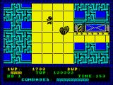 Alien Syndrome ZX Spectrum Shoot the aliens and rescue my comrades