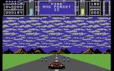 Fire & Forget II Commodore 64 Dodging obstacles