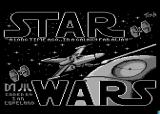 Star Wars Atari 8-bit Loading screen (UK disk)