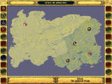 Fantasy General DOS The map
