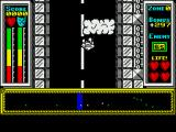 Stainless Steel ZX Spectrum Game start, on foot