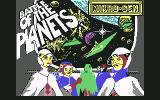 Battle of the Planets Commodore 64 Loading screen