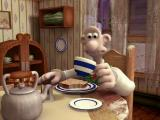 Wallace & Gromit in Project Zoo Windows Intro cut-scene withe Wallace and Gromit