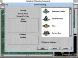 Deadlock: Planetary Conquest Windows 3.x Building menu