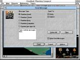 Deadlock: Planetary Conquest Windows 3.x Message screen
