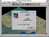 "Deadlock: Planetary Conquest Windows 3.x ""About"" window"
