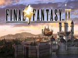 Final Fantasy IX PlayStation Title screen