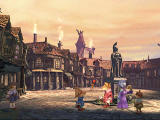 Final Fantasy IX PlayStation A square in Alexandria