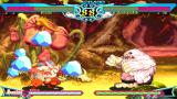 Darkstalkers Chronicle: The Chaos Tower PSP An even match between Rikuo and Sasquatch