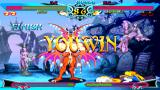 Darkstalkers Chronicle: The Chaos Tower PSP Rikuo finally victorious against Hsien-ko