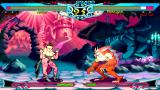 Darkstalkers Chronicle: The Chaos Tower PSP Rikuo vs. Morrigan