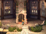 Final Fantasy IX PlayStation This thingy with a read ball is Kupo, your saving point