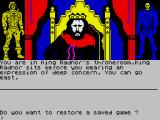 Masters of the Universe: Super Adventure ZX Spectrum Starting screen - How I Met a relative of Josh Radnor?
